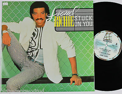 "LIONEL RICHIE Stuck On You 12"" vinyl UK 1983 Motown plays NM!"