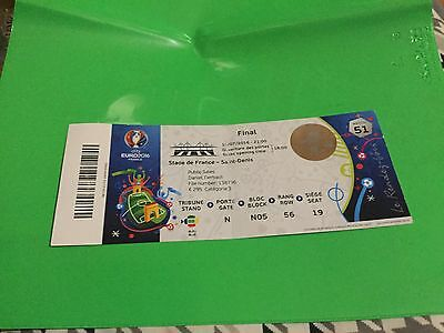 Ticket France - Portugal Final Euro 2016 France Match N. 51