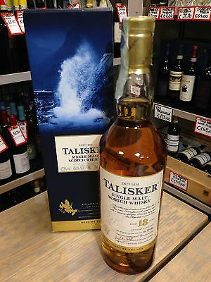 Whisky Talisker Aged 18 Years - Scotland -70cl - Astucciato