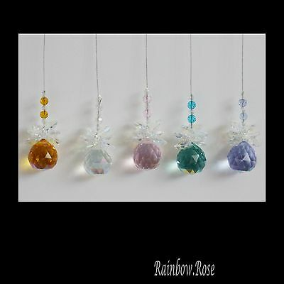 Suncatchers BULK #FA 5 BALLS 20mm AB spheres Resell Gifts Prizes fundraising