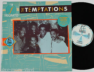 """THE TEMPTATIONS I'm Fascinated (ext) 12"""" vinyl UK 1985 Motown  plays NM!"""