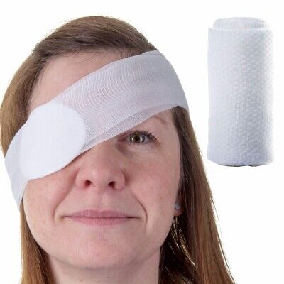 PREMIUM HSE/CE Eye Bandage FIRST AID Sterile Injury Cut Wound Pad/Patch/Dressing