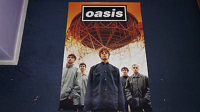 Oasis - Definitely Maybe - 1994 USA Promo Poster
