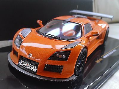 2010 Gumpert Apollo S - Metallic Orange - Diecast Model Car 1/43 IXO MOC141