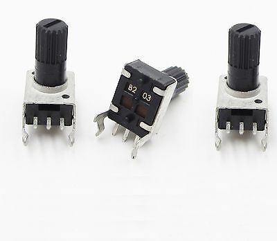 5 pcs Single-joint potentiometer B10K adjustable 0931 type potentiometer