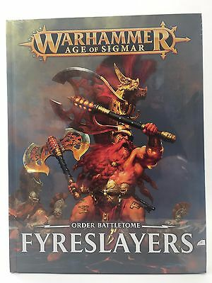 Order Battletome Fyreslayers Age of Sigmar AOS Games Workshop