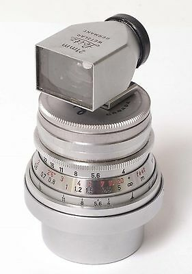 K238~ Leica Leitz Wetzlar 21mm f4 Super Angulon  Lens & Finder Outfit in M Mount
