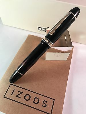Montblanc Meisterstuck 149 1950's Celluloid Silver Rings Fountain Pen
