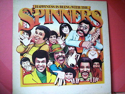 SPINNERS  LP happines is being with the spinners ITALY EX+/EX+ (VINYL)