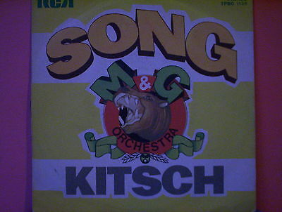 "OST Colonna sonora ::  SONG/KITSCH 45 giri 7"" M&G Orchestra ITALY EX/EX"