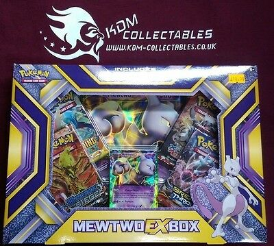 Pokemon Mewtwo EX Collection box New / Sealed - Fast Dispatch