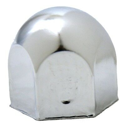 "lug nut covers(5) 1-1/2"" standard 1 1/2"" tall chrome push on for Freightliner KW"