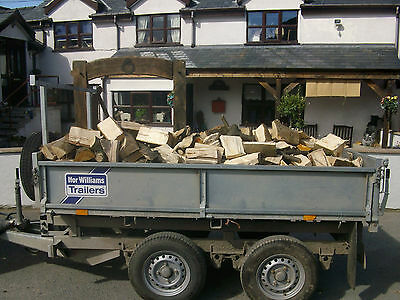 Firewood logs Seasoned fire wood log fuel north wales  For Sale