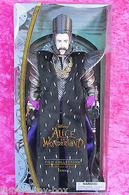 Disney Store Alice Through The Looking Glass TIME Film Collection Doll NEW