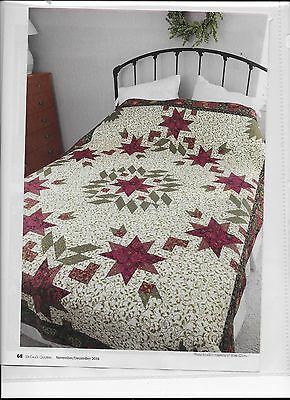 Holly & Ivy Quilt Pattern From Magazine