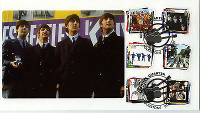 CHAUCER OFFICIAL FDC 2007 Beatles issue 1 of only 50 produced