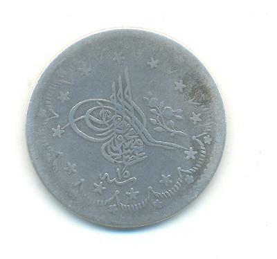 Very Rare.turkey.5.kurush.ah1255/10.in Silver.very Collectable.l.178