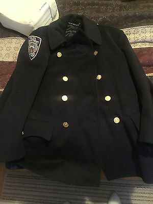 NYPD Wool Uniform Jacket  70s or 80s