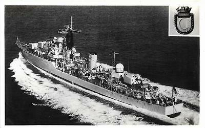 Early 1950s HMS Diana Royal Navy Destroyer Unused Ship Postcard