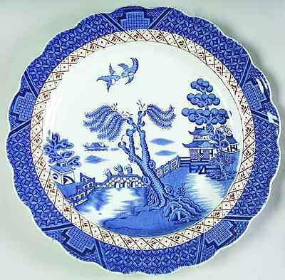 "Booths REAL OLD WILLOW 10 3/8"" Dinner Plate 3843878"