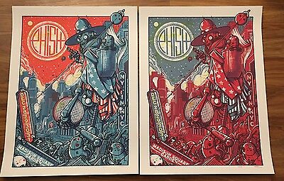 Phish Drew Millward (2) Poster Set MSG NYC NYE 2016 Poster  Only 700 mint