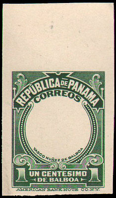Panama #197P NGAI VF top margin frame and vignette card proofs
