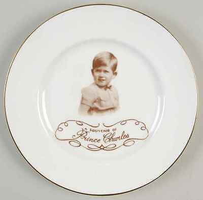 Paragon ROYALTY GIFTWARE Sepia Portrait Prince Charles Plate 8052133