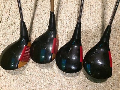 Vintage Ping Eye 2 Wooden Wood Set Driver 3 4 5 Men's Right-Handed