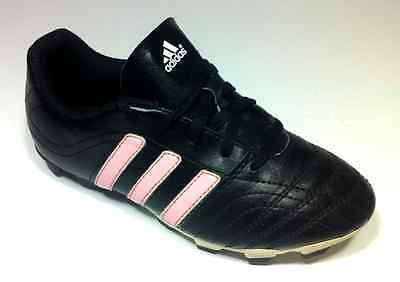 Girls Soccer Shoes Cleats Youth Black Pink Size 2