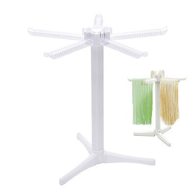 Pasta Drying Rack, Collapsible Spaghetti Dryer Stand Noodle Drying Holder BBUS