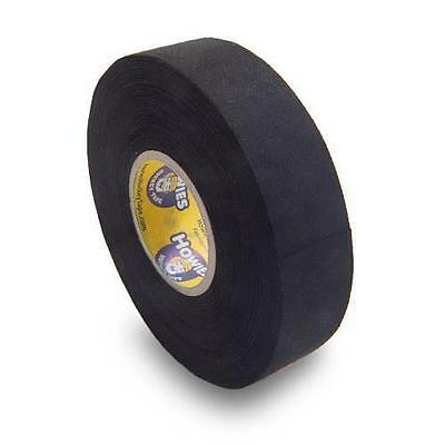 "Howies Black Cloth Hockey Stick Tape 30 Rolls Case 1"" x 23 Meters Inch M Roll"
