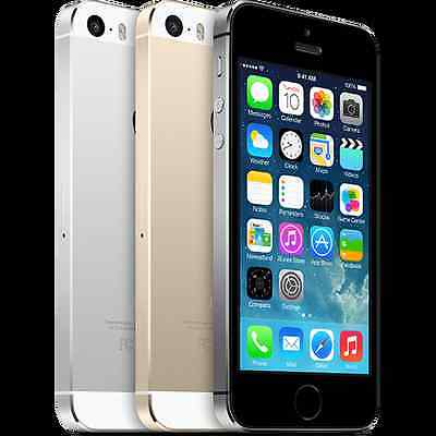 Apple iPhone 5S - 16GB - Factory Unlocked GSM Smartphone GRAY WHITE GOLD