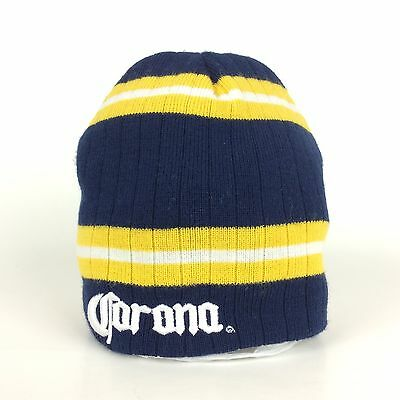 Corona Beer Logo Navy Blue Beanie Hat Cap Acrylic One Size Fits Most Miles Away  sc 1 st  PicClick & CORONA BEER Blue Acrylic Table Tent Advertisement Holder Menu ...
