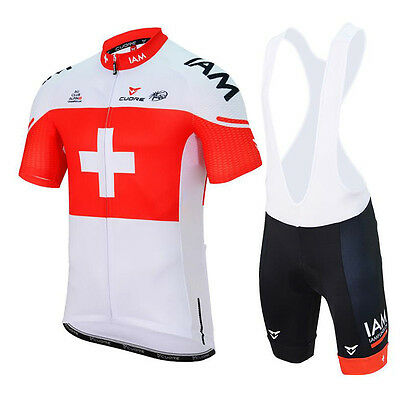 Completo ciclismo/Cycling Jersey and pants Combo Team Swiss 2017