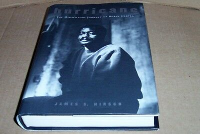 Signed Hard Cover Book Hurricane By Rubin Carter Inscribed Date Y2K