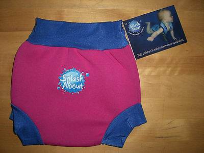 Splash About Baby Swim Happy Nappy, Medium, 3-8 Months, 6-11 Kg  *new With Tag*