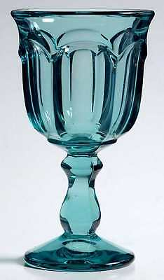 Imperial Glass Ohio OLD WILLIAMSBURG LIGHT BLUE Wine Glass 237540
