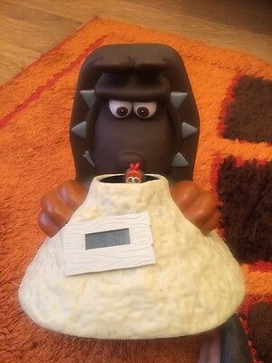 Chicken Run- Aardman Talking Clock Alarm