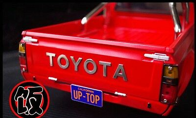 Scale TOYOTA Title for Tamiya Hilux, Bruiser, Mountaineer Tailgate Decal