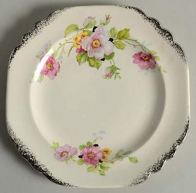 American Limoges WILD ROSE Bread & Butter Plate 990922
