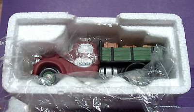 Mint In Box Dept 56 Orig Christmas In The City Vintage Cars Delivery Truck 59454
