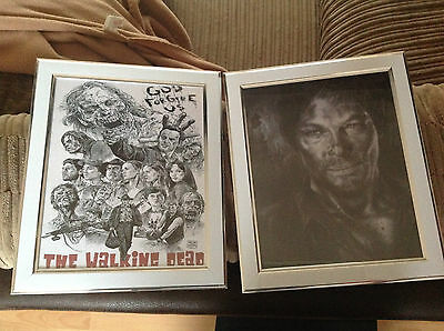 """The Walking Dead 10x8""""   Print Framed - New Choose from Stlyes"""