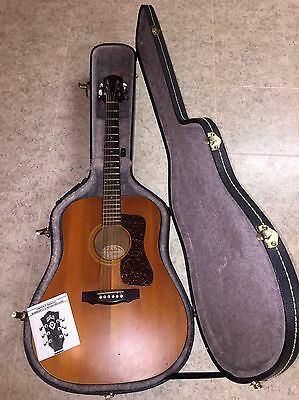 Guild D4 NT Acoustic with Hardshell Case
