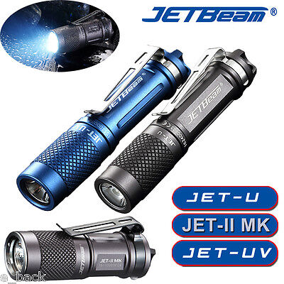 Portable JETbeam JET-II/JET-U MK XP-L HI 510LM Waterproof LED Flashlight