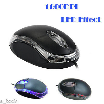 1600 DPI Optical USB Wired Gaming Mouse Gamer Game Mice For PC Laptop Wholesale