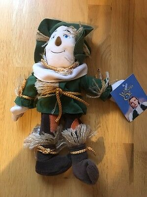 "Wizard Of Oz ""scarecrow "" Beanie Plush Doll Warner Bros"