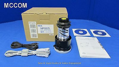 NEC NP02ZL 1.3x Short Zoom Lens for NP1150, NP2150 and NP3150 LCD projectors