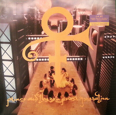 PRINCE & THE NEW POWER GENERATION - Love Symbol - 2LP GER 1992 MINT