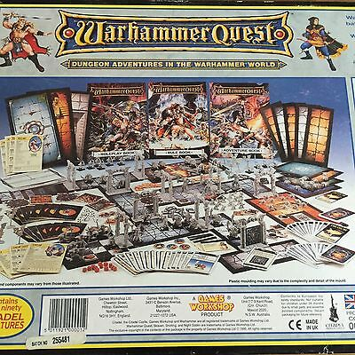 Warhammer Quest PARTS from ORIGINAL WARHAMMER QUEST Multi-Listing FREE SHIPPING