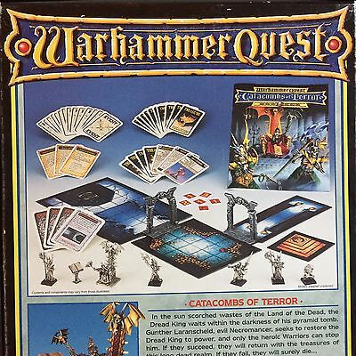 Warhammer Quest PARTS for CATACOMBS OF TERROR Multi-Listing FREE SHIPPING